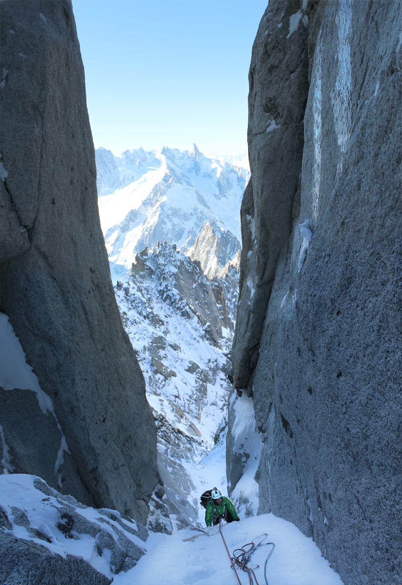 How nice is this for a couloir?
