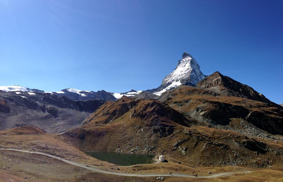 Matterhorn during the approach