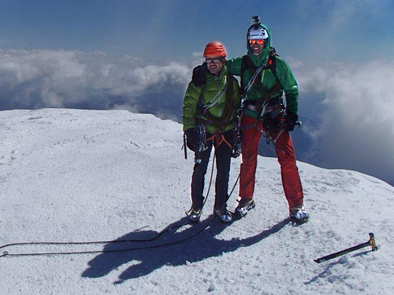 Op de top met Martin